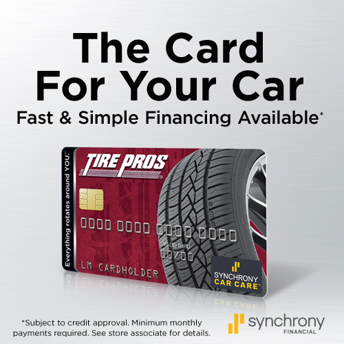 Tire Pros Financing Available at West Tire & Auto Center Tire Pros in Washington, PA 15301